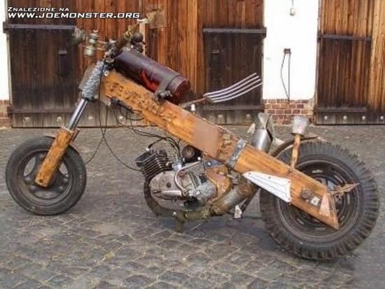Humor Zr B To Sam Motocykl
