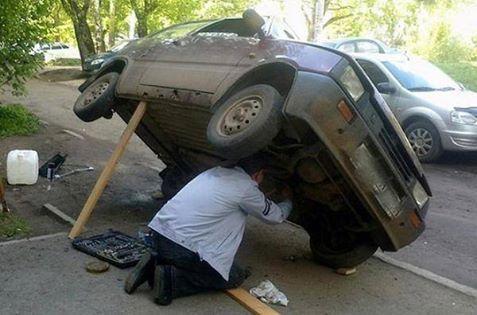 Mechanik z w³asnym warsztatem