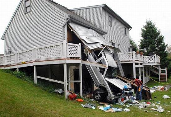 Kochanie,  czy moglibyśmy troszeczkę przedłużyć nasz garaż?
