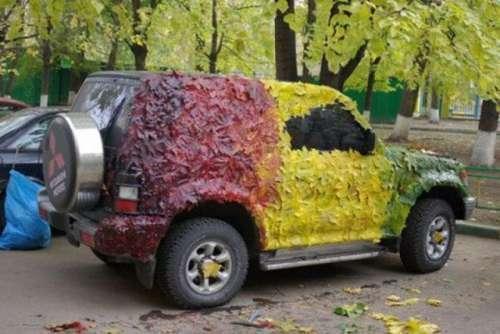 Jesienny kamuflaż :)