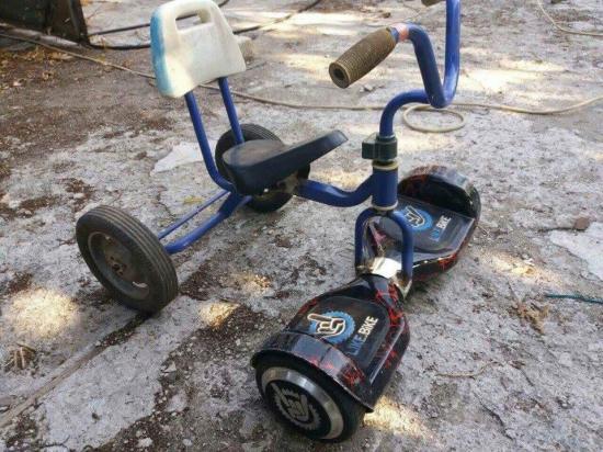 Turbo rowerek :)