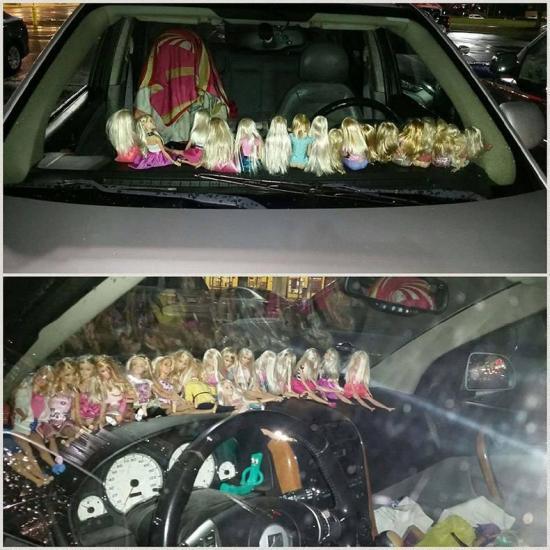 Kierowca potrzebował wsparcia :)