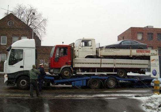 Ciężarówka matrioszka :)))
