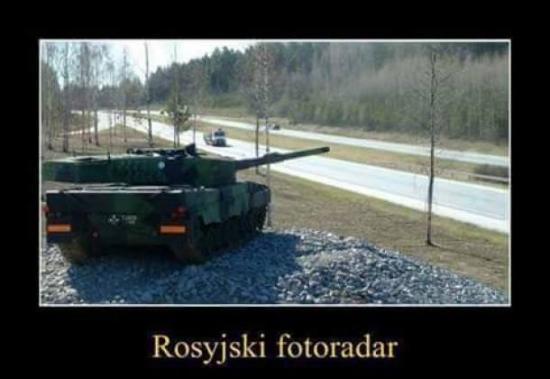Rosyjski fotoradar