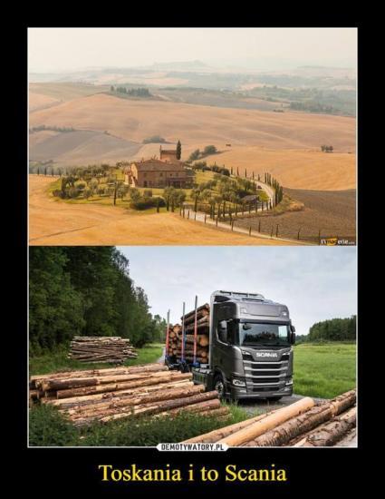 Toskania i to Scania