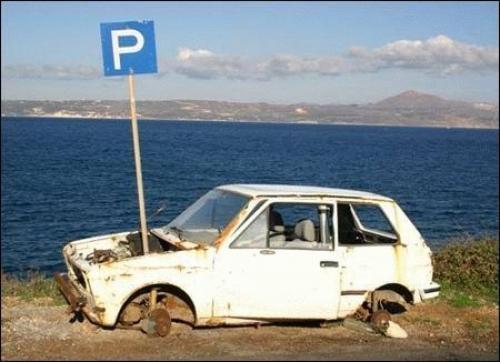 Parking dla szrotów?