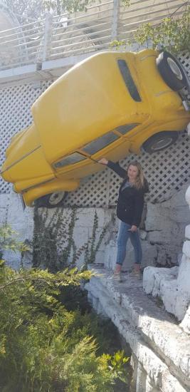 :) wydawało mi się że parkowałam dobrze...wczoraj )))))