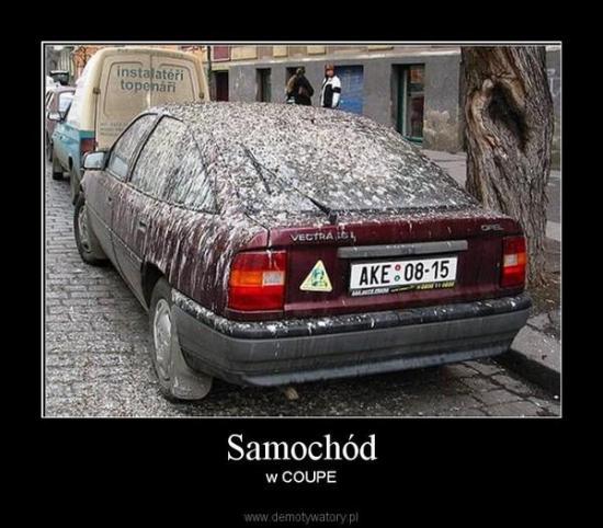 Teraz każde auto może być w coupe :)