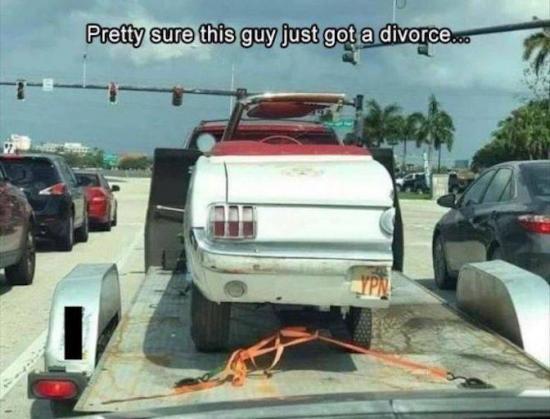 Kiedy rozwód kończy się podziałem pół na pół...