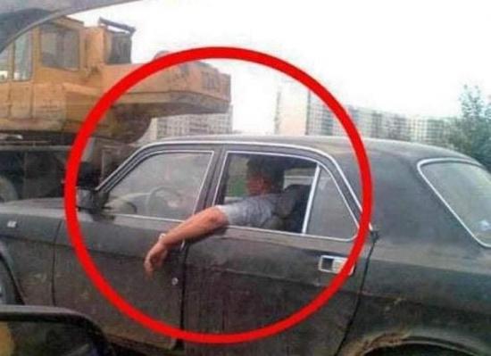 Długonogi kierowca