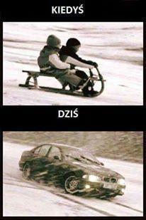 Zabawa na śniegu kusi w każdym wieku
