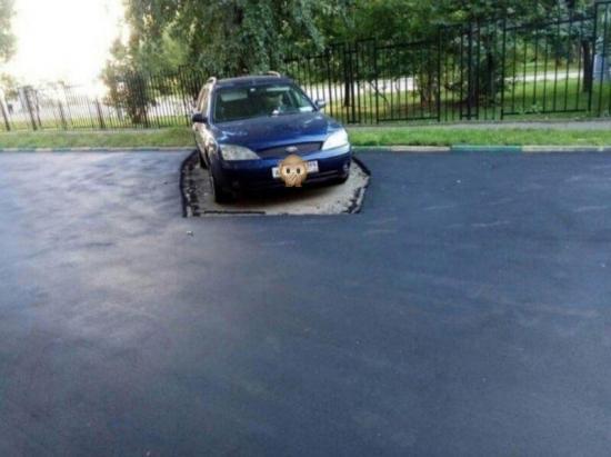 Auto wyjedzie, dziura zostanie