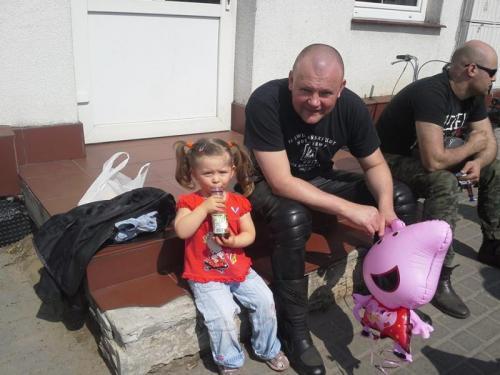 Weronika z tatusiem ;-)